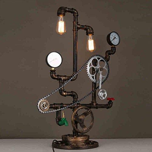 Eisen Tischlampe Retro Restaurant Bar Wasserpfeife kreative Achse Kette dekorative Licht Designer Studio
