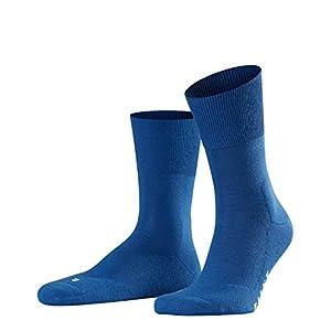 FALKE Unisex Run Socken – 1 Paar, Größe 35-52, versch. Farben, Baumwollmischung – Ultraleichte Plüschsohle, hoher Feuchtigkeitstransport