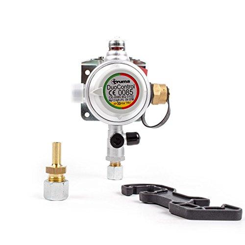 Truma DuoControl Gasdruckregler 30 mbar für Wohnwagen oder Wohnmobil