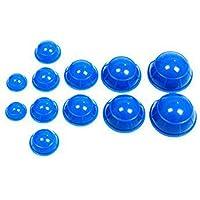 Glield Schröpfen Set mit 12 Schröpfgläser aus Silikon BG02 preisvergleich bei billige-tabletten.eu