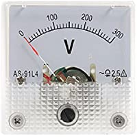 DealMux Classe calibre 2,5 precisão do medidor de tensão painel AS-91L4 AC 0-300V