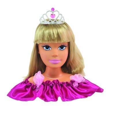 Dimian 10030211 - Princesa Cambio de Imagen, Lara, Maquillaje y Frisierkopf, Multicolor