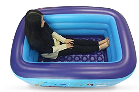 FACAI888 Thick Warm Home Adult Folding Inflatable Bath Tub Bath Barrel / Child Bath / Plastic Shower Cylinder Domestic Hot Tub
