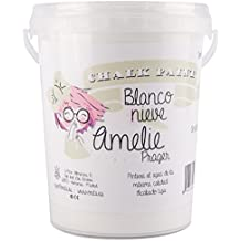 Amelie Prager 1000-01 Pintura a la Tiza, Blanco Nieve, 1 l