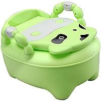 ZJBDQ Silla de servicio móvil para aumentar el aseo de los niños, aseo del bebé , green
