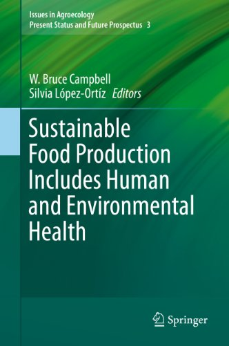 Sustainable Food Production Includes Human and Environmental Health: 3 (Issues in Agroecology – Present Status and Future Prospectus)