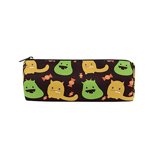 FANTAZIO Federmäppchen für Jungen, süßes Halloween-Monster Make-up-Tasche