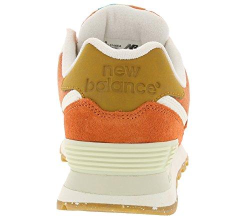New Balance - Wl574sea, Scarpe da ginnastica Donna (Orange)