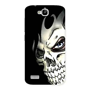 Premium Nasty Face Art Multicolor Back Case Cover for Honor Holly