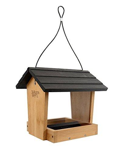 Nature 's Way Vogel Produkte bwf15Bambus Hopper Bird Feeder, Camping-Schmortopf -