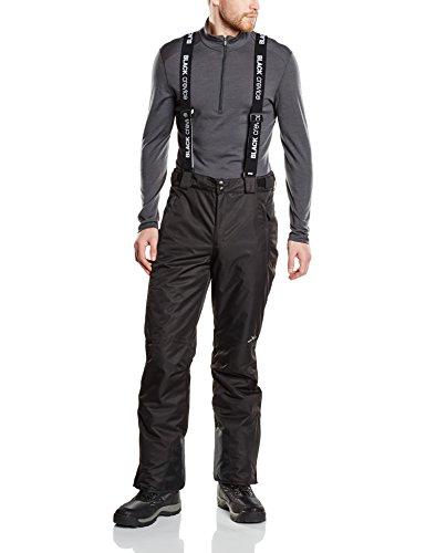 Black Crevice Pantaloni da Sci da Uomo Uomo Skihose Nero 52