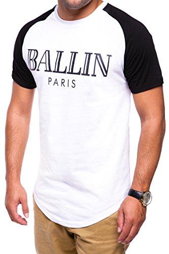 MT Styles Oversize Raglan T-Shirt C-9090 Weiß
