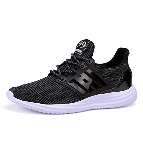 Men's High Quality Mesh Breathable Running Shoes 16048 black