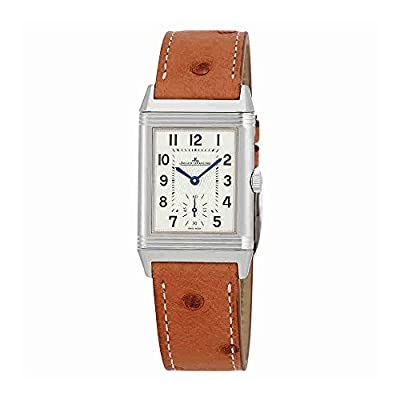 Jaeger LeCoultre Reverso Classic Silver Dial Ladies Leather Watch Q2438521