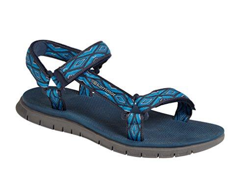 Karrimor Aruba 2, Zapatillas de Senderismo para Hombre, Azul Blue, 43 EU