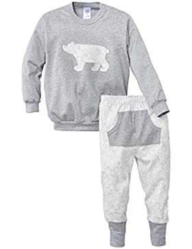 Calida Family Time Kleinkinder Pyjama Mit Bündchen, Pigiama Bambina