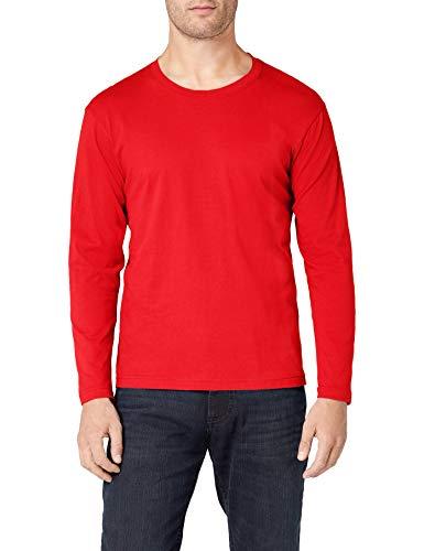 Stedman Apparel Herren T-Shirt Classic-T Long Sleeve/ST2500 scharlachrot L