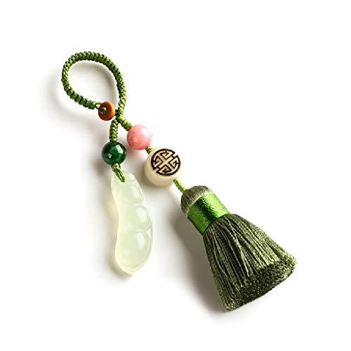 C&S Auto-Schlüsselanhänger-Verzierung löschen Klassische Bohnen-Schlüsselanhänger-kreatives kleines Geschenk Handgemachtes umsponnenes Seil - Klassische Autos Schlüsselanhänger