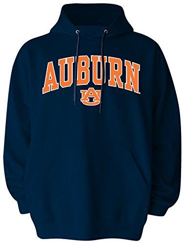 Old Varsity Marke Herren Auburn Tigers Big Pullover Kapuze, Herren, Big Mens Pullover Hood, Navy -