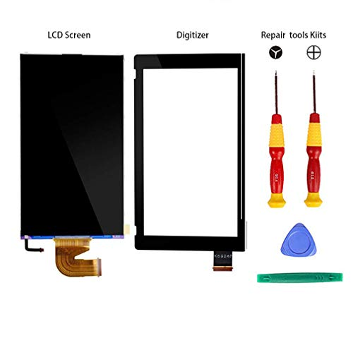 nd Touchscreen Glas Digitizer Repair Tools Kits für Nintendo Switch Gamepad ()