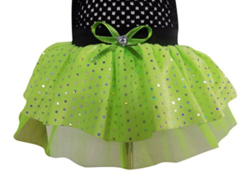 Sparkle Tutu Skirt Fancy Dress (Kids, Green) ()