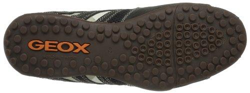 Geox UOMO SNAKE L Herren Sneakers Grau (DK GREY/OFF WHITEC1300)
