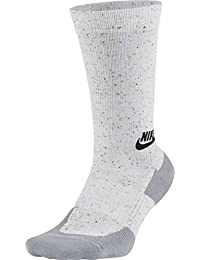 Nike M NSW TCH PK Crew Calcetines, Hombre, Blanco (White/Wolf Grey