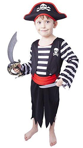 coole Jungs von 3 - 4 Jahren (104 - 110 cm) (Coole Piraten-kostüme)