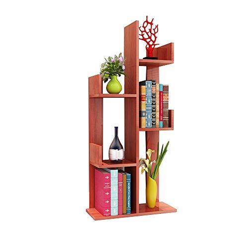 Bibliothèque DD-Étagère, À 6 Couches Rack Simple Présentoir pour Enfants/Présentoirs Finition et Stockage (Couleur : Walnut Color)