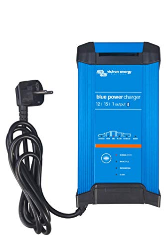 Victron Energy - Caricabatteria 15A 12V Victron Energy Blue Smart IP22 Bluetooth 12/15 1 Schuko - BPC121542002