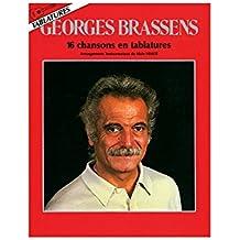 Brassens : 16 Chansons En Tablatures (Arrangements Alain Vérité).