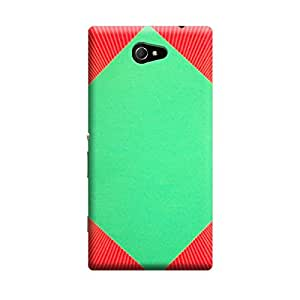 iCover Premium Printed Mobile Back Case Cover With Full protection For Sony Xperia M2 (Designer Case)