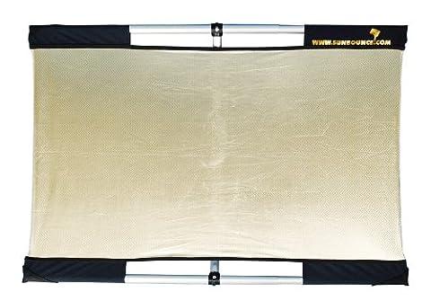 Sunbounce Sun-Bouncer Micro-Mini Travel Kit Smooth Zebra / Gold - Silver / White Back