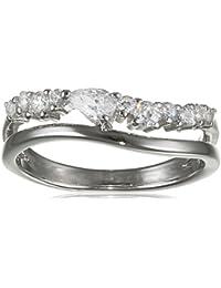 Esprit Essential Damen-Ring ES-DIADEM 925 Silber rhodiniert Zirkonia transparent - ESRG92847A1