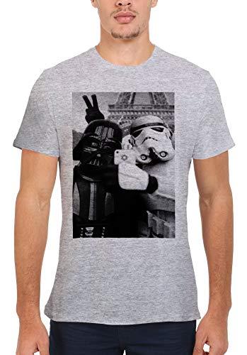 Star Wars Empire Selfie Darth Vader Stormtrooper Novelty Men Women Unisex Top T Shirt-L