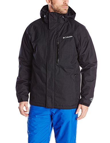 Columbia Jacke für Herren, Alpine Action WATERPROOF, Polyester, schwarz (black), Gr. XL -