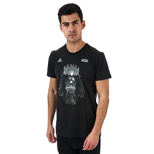 Adidas Darth Vader Camiseta, Hombre, Negro, S