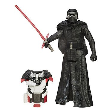 Hasbro - B3888 - Star Wars : The Force Awakens - Kylo Ren - Figura 9 cm + Armadura
