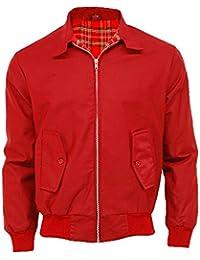 Raiken Classic Retro Style Bomber Harrington Jacket