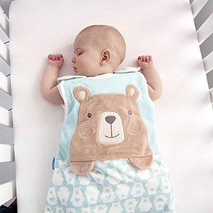 41jSWrQqeWL. SS416  - Grobag Bennie The Bear - Saco de dormir (2,5 tog, 18-36 meses)