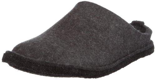 Haflinger - Soft, Pantofole A Casa, unisex Grigio (Grau (graphit 77))