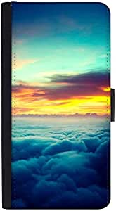 Snoogg Aerial Sunrise Epicdesigner Protective Flip Case Cover For Htc M8