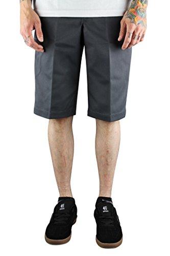 Dickies -  Pantaloncini sportivi  - Uomo Grey 30 Vita x Regolare