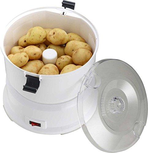 Kartoffel-Schälmaschine 646120 Elektrischer Kartoffel-Schäler einfach Kartoffeln schälen lassen