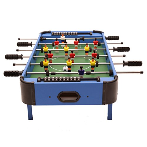 ball-Spielzeug-Spiel, Desktop-Fußball-Spielzeug-Station, 6 Schüsse Fußballbrett, Mini-Indoor-Spielzeug, Familie Fußballspiel, Hölzerne Komprimierte MDF (32.6 * 16.5 * 9.2 Zoll) ()