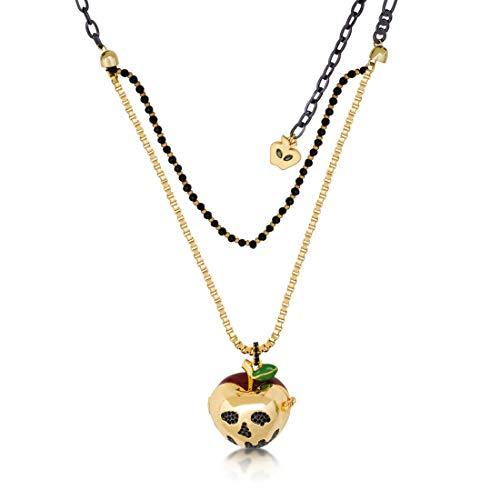 Couture Kingdom Disney Snow White Apple Locket Necklace - Disney Schmuck Couture