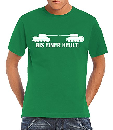 Bis einer heult! T-Shirt Kelly Green, M