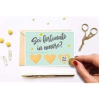 Biglietto amore per lui San Valentino Regalo di compleanno Cartolina anniversario di matrimonio coppia