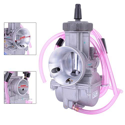 JFG RACING PWK40 - Carburador Universal de 40 mm para Motocicleta, Honda,...
