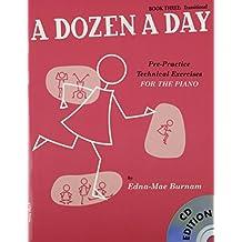 A Dozen A Day Book Three Transitional Edition (Book And Cd) Pf Book (Book & CD)